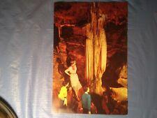 Jumbo SPECTER COLUMN, CAVERNS AT LURAY, VIRGINIA  picture postcard.