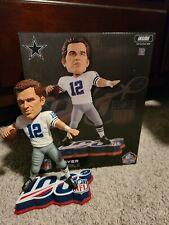 Dallas Cowboys Roger Staubach Bobblehead 100 LE Painted Base Exclusive