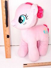 """PINKIE PIE BALLOONS HORSE - BUILD A BEAR 14"""" MY LITTLE PONY PINK PLUSH TOY USED"""