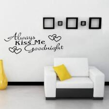 Usual Quote Wall Stickers Kids Fashion Diy Common Daily Alwayskissme Decals LR