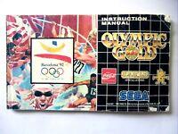 48688 Instruction Booklet - Olympic Gold - Sega Mega Drive ()
