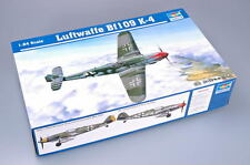 TRUMPETER Plastic Plane Static Model Toy Luftwaffe BF109 K-4 02418 1/24 Scale