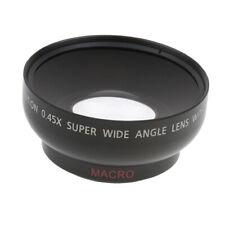 43mm 0.45x Wide Angle + Macro Conversion Lens for Canon Nikon SLR Camera DV