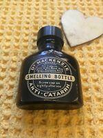 Vintage Dr Mackenzie Brown Smelling Bottle Medical C1950
