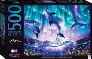 Mindbogglers Artisan 500 Piece Jigsaw Puzzle - The Music Of Aurora