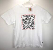 White //New UNIQLO ×The Brands Bianchi Men`s Graphic T-Shirt