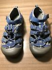 KEEN Womens Water Washable Athletic Outdoor Hiking Sandals Size 6 Blue Gray