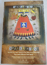 Sparklehorse - Dreamt for light years in the belly of.. PROMOTIONAL MUSIC POSTER