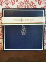SONY TRINITRON Commemorative Ed Plate 1981 10th Anniversary Colour TV No. 589
