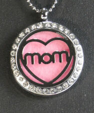 *Mom Love* Diffuser Necklace Locket Stainless Still 10ml Oil 11 pads, & GIFT.