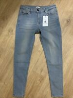 LL LEGEND LONDON Jeans Spray On Non Ripped Skinny Blue Jeans Size W30 L28 BNWT