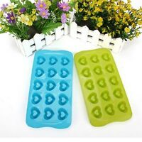 Heart Cake Mold Soap Flexible Silicone Mould For Candy Chocolate Cake Kitchen
