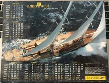 Calendrier Almanach du facteur 2004 j.cartier Bresson bateau