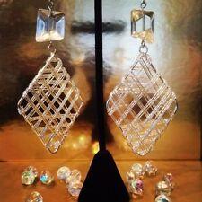 Diamond Beads Handcrafted Earrings