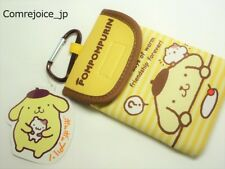 SANRIO POMPOMPURIN Mobile Electronics Iphone Carabiner Pouch 9.0cm x 14.5cm NEW