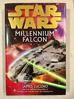 Mint 1st Edition Star Wars: Millennium Falcon by James Luceno (2008, Hardcover)