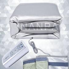 3 Zones Far Infrared Carbon Fiber Heated Sauna Blanket Body Slimming SPA Machine
