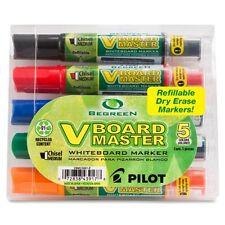 Begreen V-board Master Dry Erase Marker - Broad Marker Point Type - Chisel
