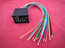 BMW 5 Series E34 E39 (1988 To 2000) Round Pin Wiring Harness To Bare Wires Lead