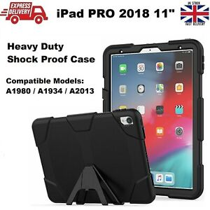 Tough Military Heavy Duty Silicone Rubber Case Cover for iPad PRO 2018 11 inches