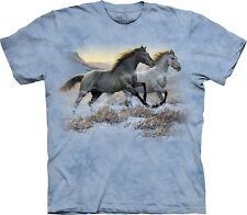 Running Horses Shirt Adult Unisex The Mountain Medium 1016291