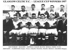 CELTIC F.C. TEAM PRINT 1957 (League Cup Winners)