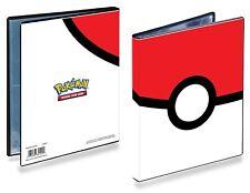 Ultra Pro Pokemon Poké Ball 4-Pocket Portfolio