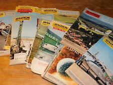 LOT 17 REVUE ANCIEN aviation magazine de l'espace 1961 MILITAIRE armements AVION