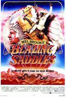 """BLAZING SADDLES"" Movie Poster [Licensed-NEW-USA] 27x40"" Theater Size (1974)"
