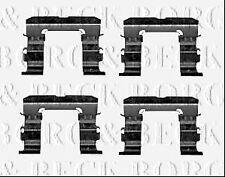 BBK1582 BORG & BECK BRAKE PAD FITITNG KIT fits Nissan Pick-Up fits D22 03/02-08
