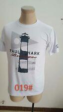 019 New fashion men 2Colors Embroidery Paul shark Short sleeve t-shirt M-XXL