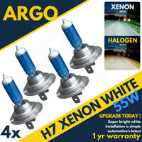 H7 55w 5500k Xenon Upgrade Hid Super White Ice White Headlight Bulbs 499 477 4x