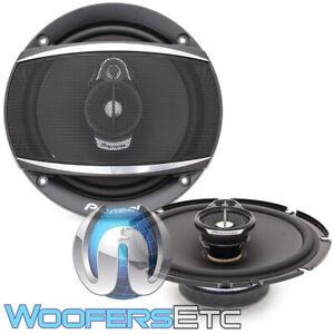 "PIONEER TS-A1670F 6.5"" 320W 3-WAY TWEETERS CAR STEREO RADIO COAXIAL SPEAKERS NEW"