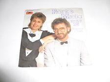 "FRANK & MIRELLA - Nou En of Love - 1986 Dutch 7"" Juke Box vinyl single"