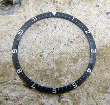 Vintage Genuine Tudor Chronograph Monte Carlo 7169 Fade Black Watch Bezel Insert