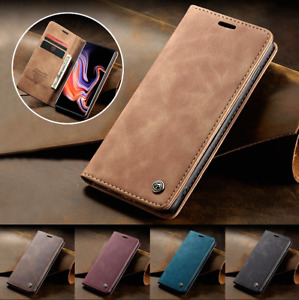 CaseMe Suede Leather Wallet Case Cover for iPhone 6 7 8 XS XR 11 12 Pro Max Mini