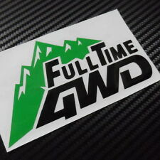 Car 4WD Four Full time Mountain Decal for SUV Vinyl Rear Sticker CF555 2pcs