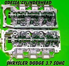 2 JEEP LIBERTY DODGE DURANGO DAKOTA 3.7 SOHC CYLINDER HEADS V6 2002-2012 NO CORE