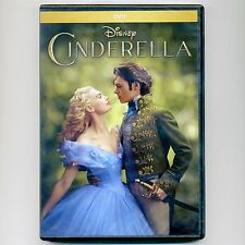Disney Cinderella 2015 PG family movie, new DVD, Bonham-Carter, Blanchett, James