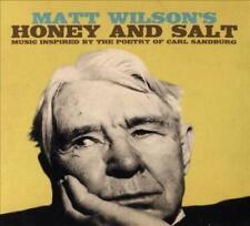 MATT WILSON (DRUMS) - HONEY & SALT * NEW CD