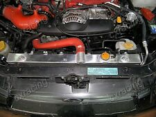 CXRacing Aluminum Radiator for 02-07 SUBARU IMPREZA WRX STi 2.0 2.5 + CAP
