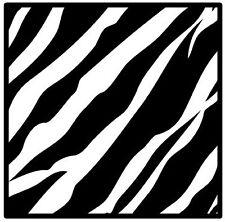 Zebra Print-Posavasos-Juego De 4 divertido Posavasos-Regalo / Actualidad-Nuevo