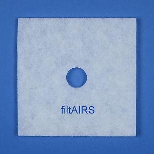 5 Filter Ersatzfilter für Lunos Lüfter Skalar LRK-S LRA-S LRK-2S 2/FSK 033 863