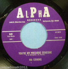 4th Coming w/Hank Porter: You're My Precious Someone / Strange Things [Unplayed]