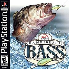 Championship Bass  (Sony PlayStation 1, 2000) PS2 PS3 Fast Shipping!
