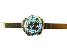 UN United Nations Blue Tie Clip Slide