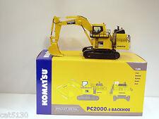 "Komatsu PC2000-8 Excavator - ""DOUG HOOD"" - 1/50 - NZG #762.1.01 - MIB"