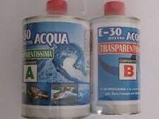 Resina epossidica trasparente Prochima E-30 effetto acqua gr 320