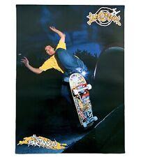 Illenium 2002 Al Partanen Two Sided Skateboard Poster Decks Gear Rare Vtg Poster