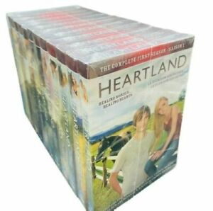 HEARTLAND : COMPLETE SERIES -1-13,DVD SET , NEW FREE SHIPPING, NEW.